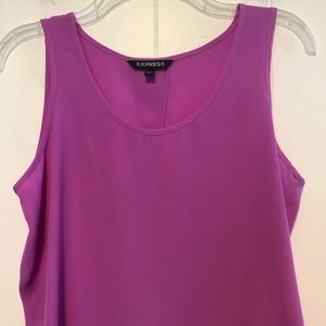 Express Tops - Express orchad top w/open back. Size Small.